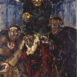 Fritz Ascher, Golem, 1916. Oil on canvas, 71 x 55 in., 182.5 x 140.5 cm. Jewish Museum Berlin GME932. ©Bianca Stock
